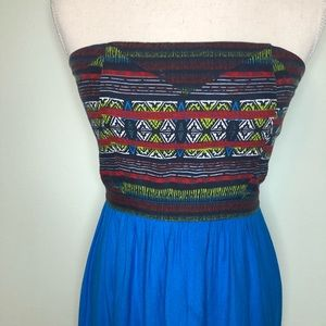 Urban Outfitters Dresses - UO Silence + Noise Aztec Strapless Mini Dress M